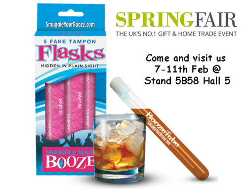 Smuggle Your Booze to attend Spring Fair 2016